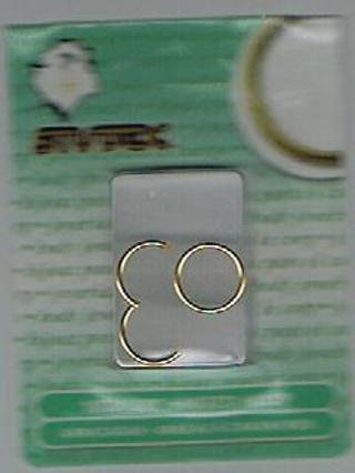 18ga hoop earrings