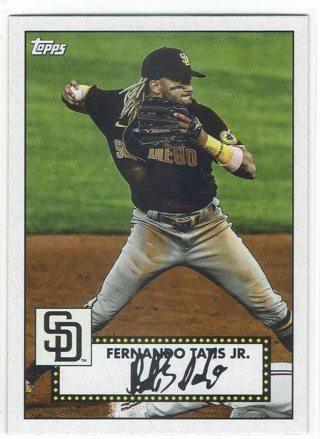 Fernando Tatis Jr. 1952 Topps Design San Diego Padres 2021 Topps