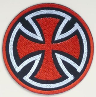 1 Skateboard Badge Iron on Patch Applique Adhesive Embroidered Clothing Accessories