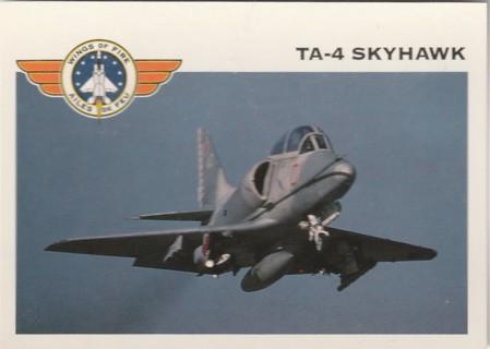 Vintage Collector Card: Wings of Fire: TA-4 Skyhawk