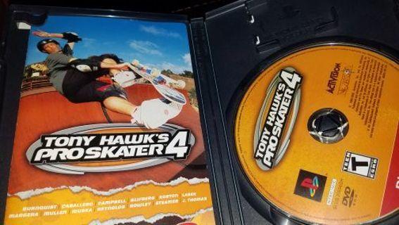 Tony hawks proskater.4 for playstation 2
