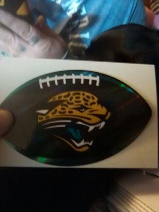 NFL Jaguar sticker