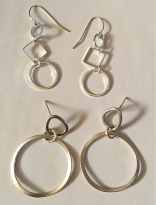 *****Knockout Hoop and Dangle Earrings**** Free Shipping