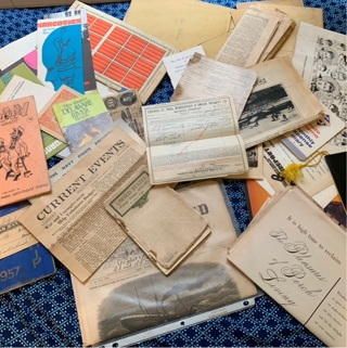Huge lot of antique historic documents and papers!!!!