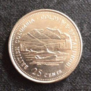 Canada 1992 coin British Columbia