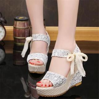 b25b20dd5 FREE  New 2018 Arrival Ladies Shoes Women Sandals Summer Open Toe Fish Head  Platform High