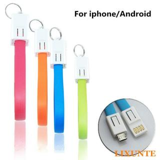 Portable Key Chain Key Ring USB/Charger Cable Cord for Android HTC T