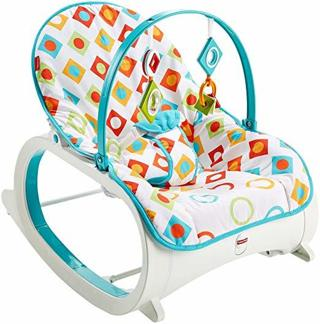 NEW Fisher-Price Infant-to-Toddler Rocker, Geo Diamonds FREE SHIPPING
