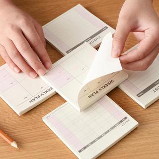 Cute Kawaii Weekly Monthly Work Planner Book Diary Agenda Dokibook For Kids School Supplies Free S