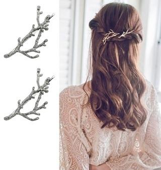 NEW Elegant Metal Tree Branch Hairpins Hair Clips Women Barrettes Headwear Alloy Accessories Clips