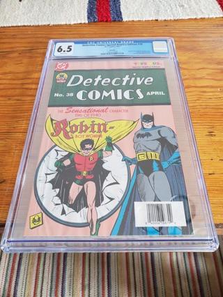 CGC 6.5 Detective Comics Special Replica Edition  #38 1997