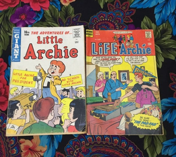 Archie Comics  Rare little archie comic and random life FREE SHIPPING