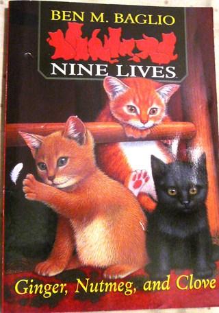 """""""Nine Lives"""", Ginger, Clove and Nutmeg"""