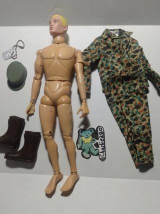 "ALL-Original 1966 GI Joe 12"" Action Figure"