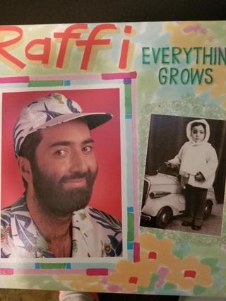 Raffi; Everything Grows record