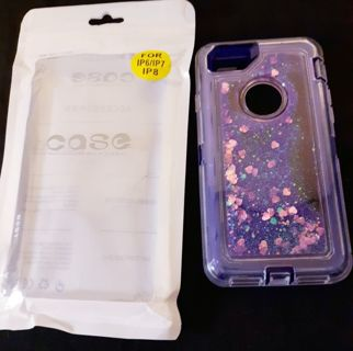 NEW Purple Glitter Sparkle Phone Case iPhone FREE SHIPPING