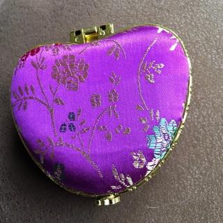 Heart shaped Double Pocket Mirrors