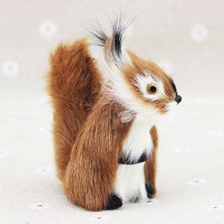 Squirrel Ornament Decor Hanging Tree Fleece Adornment Xmas Gift