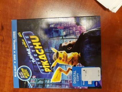 Detective Pikachu HD Digital Copy