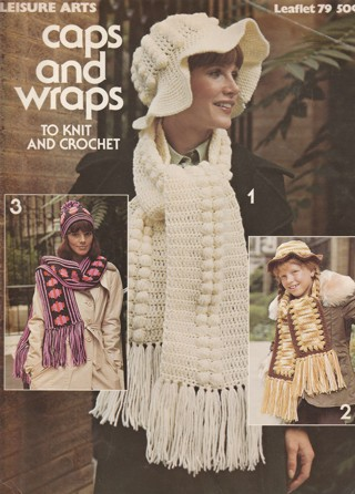 Craft Leaflet: Caps & Wraps to Knit and Crochet