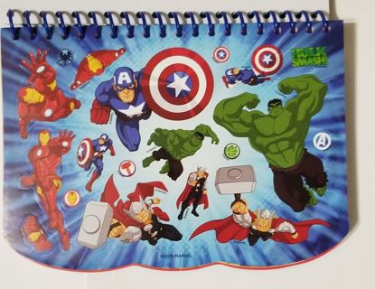 Marvel AVENGERS CAPTAIN AMERICA Color and Draw Activity Pad