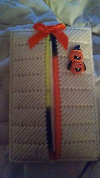 Happy Halloween tissue holder