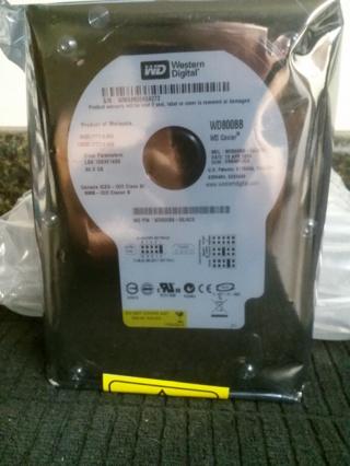 WD Caviar WD800BB 80GB Hard Drive New
