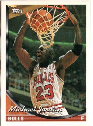 93-94 Topps Michael Jordan