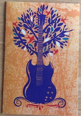 "GUITAR TREE - 3 x 4"" MAGNET"