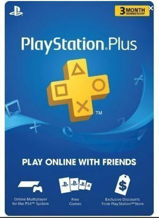 NEW 3 Month Playstation Plus Membership PS3 / PS4 / PS Vita PSN PLAYSTATION NETWORK