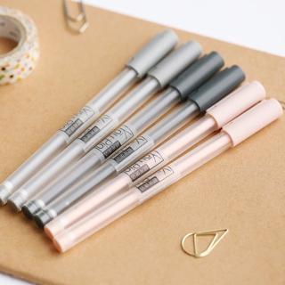 2 Pcs/lot Cute Kawaii New Simple 0.35mm MG Writing Gel Pen Office School Supplies Stationery Kids