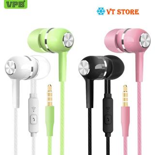 (2 sold) Sport Earphone wholesale Wired Super Bass 3.5mm Crack Colorful Headset