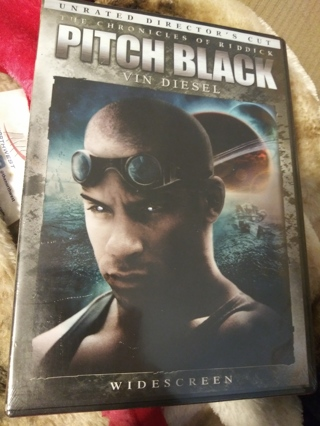 Pitch black DVD Factory sealed