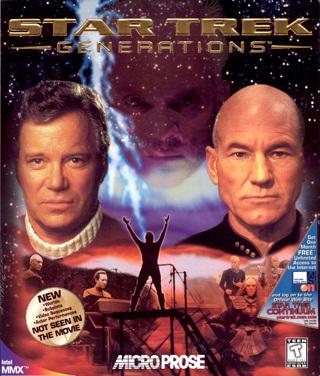 Star Trek Generations DVD