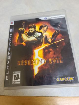 Ps3 Playstation 3 Resident evil 5