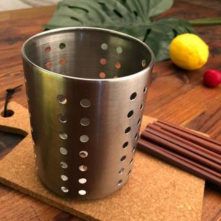 Stainless Steel Kitchen Storage Utensil Holder Spoon Cutlery Organizer HOT