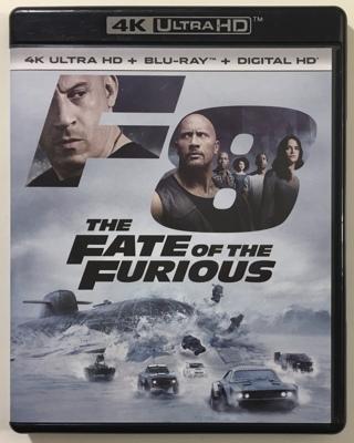 The Fate of the Furious F8 (4K Ultra HD / Blu-ray 2-Disc Set, 2017)