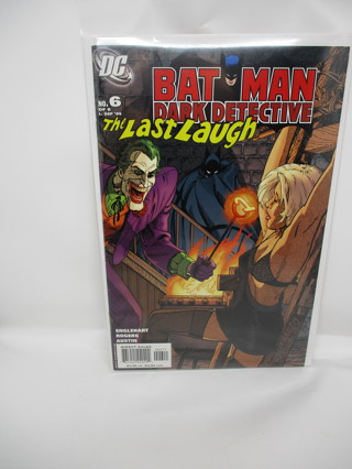 BAT MAN DARK DETECTIVE NO.6