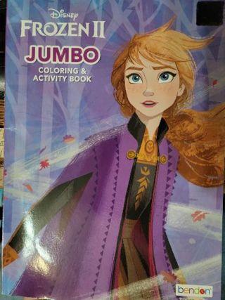 Frozen II Jumbo Coloring & Activity Book