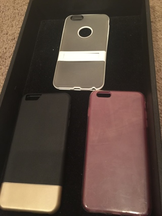 Iphone 6 Plus - 3 Slightly Used Cases