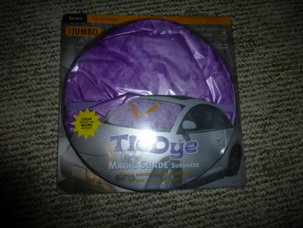Free: Tie Dye Sunshade for Car - Accessories - Listia.com Auctions ...
