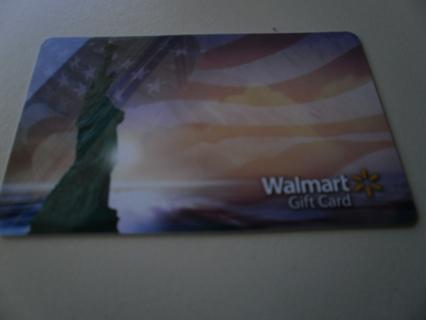 5.00 DOLLAR WALMART GIFT CARD