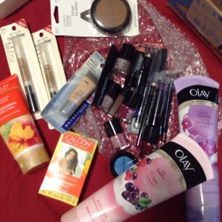New makeup and lotions Lot