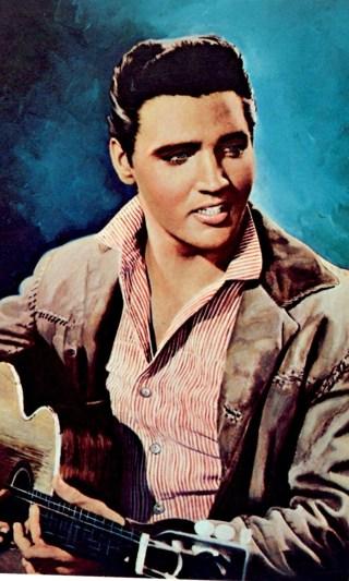 Elvis Presley Postcard ~ Unused