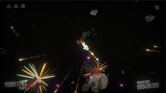 SPACE ASTEROID SHOOTER  RETRO ACHIEVEMENT ODYSSEY (Steam key)