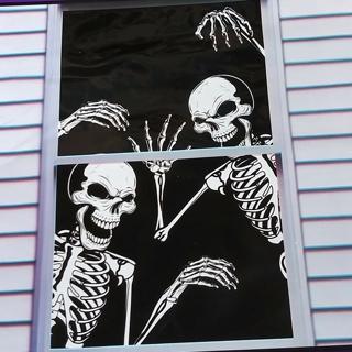HALLOWEEN WINDOW COVER DECORATION 30 INCH X 48 INCH