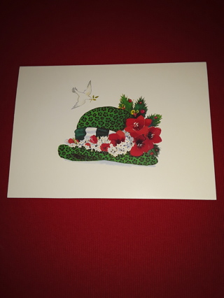 Christmas Cards - Holiday Hat