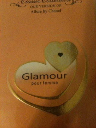 GLAMOUR GOLD COLOGNE