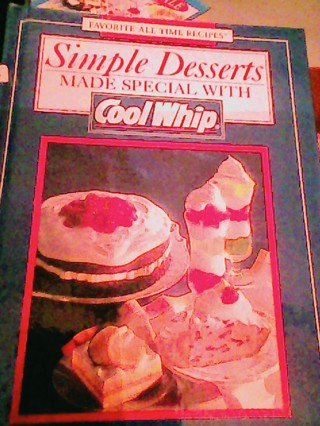 Simple Desserts made special with Cool whip Book