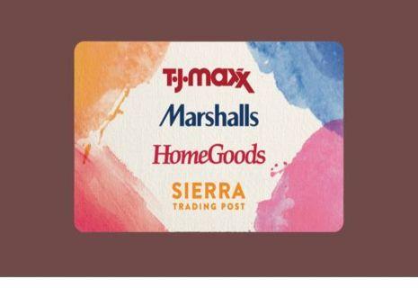 $5.00 TJ Maxx E Gift Card
